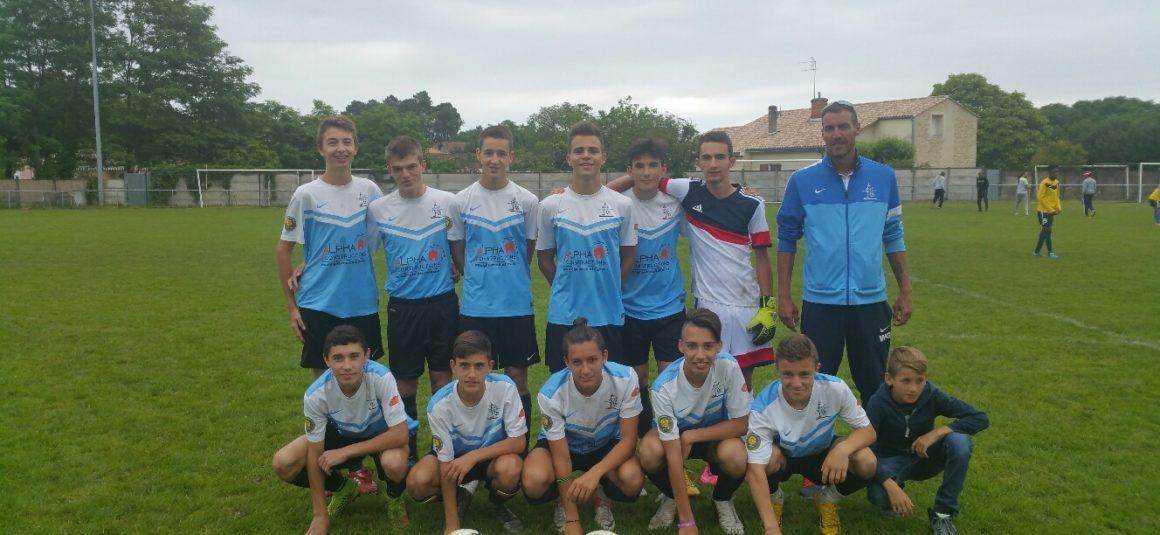 Clap de fin pour les U16/U18