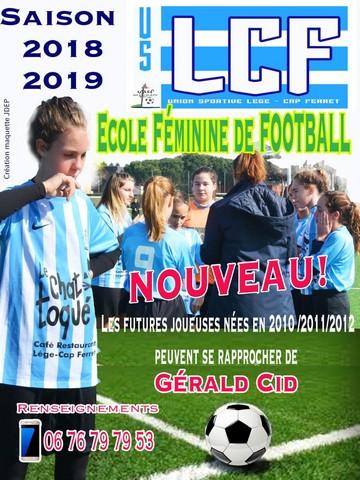 Une école de foot féminin !