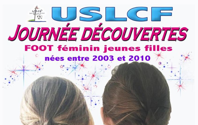 1ère école de foot féminin à l'USLCF !