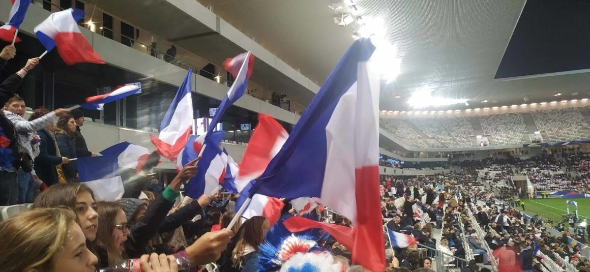 L'USLCF était au match France-Serbie