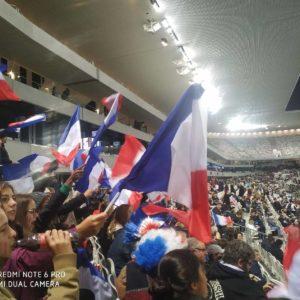 L'USLCF était au match France-Serbie